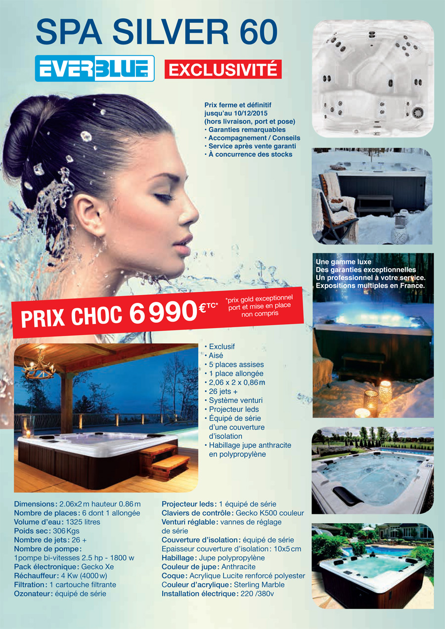 Spa Silver 60 - Everblue